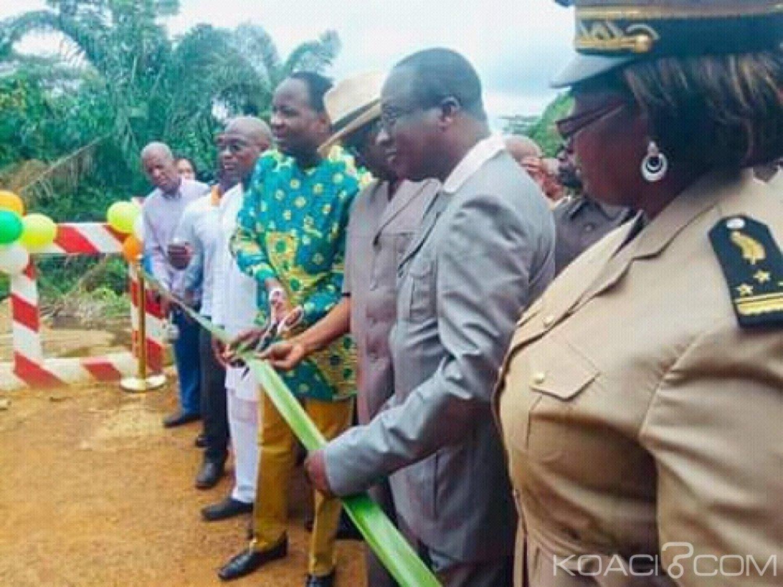 Côte d'Ivoire: À Sahuyé pendant les JAAD 2019, plusieurs kilomètres de routes reprofilées aux profit des agriculteurs