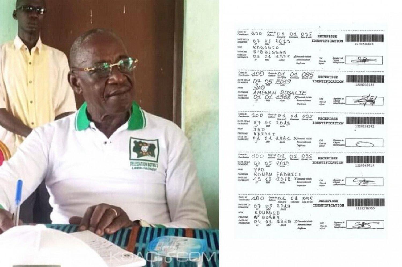 Côte d'Ivoire: «Preuves» à l'appui,  un délégué PDCI accuse le RHDP du Gbêkê d'enrôlement illicite de ses militants