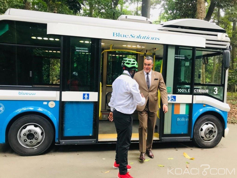 Côte d'Ivoire: Bus électriques, l'ambassadeur du Maroc salue l'engagement du groupe Bolloré dans le transport propre