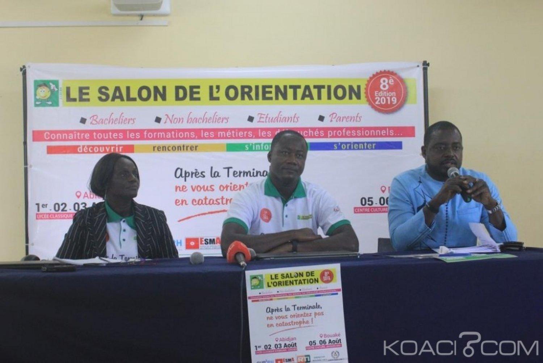 Côte d'Ivoire : Après le Baccalauréat où s'orienter, ils se mettent à la disposition des nouveaux étudiants
