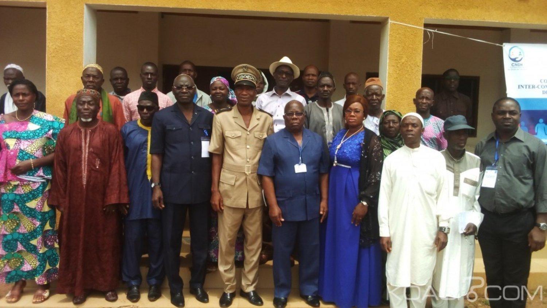 Côte d'Ivoire : A Touba, des leaders communautaires sensibilisés sur la question des conflits intercommunautaires