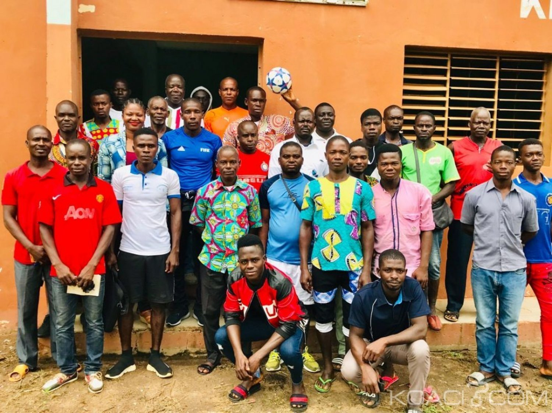 Côte d'Ivoire: Séance de Formation avec l'arbitre international FIFA Traoré Ibrahim Kalilou