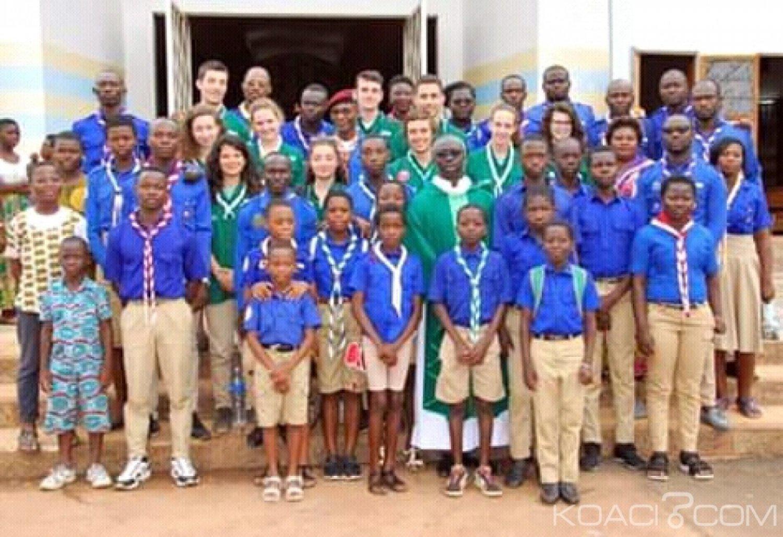 Côte d'Ivoire-France : Par une action de jumelage entre scouts,   deux villages du Iffou bénéficient de salles de classes