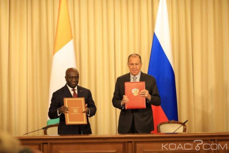 Côte d'Ivoire : Pour le chef de la diplomatie  Russe Sergueï Lavrov , la résolution des conflits revient aux Africains eux-mêmes