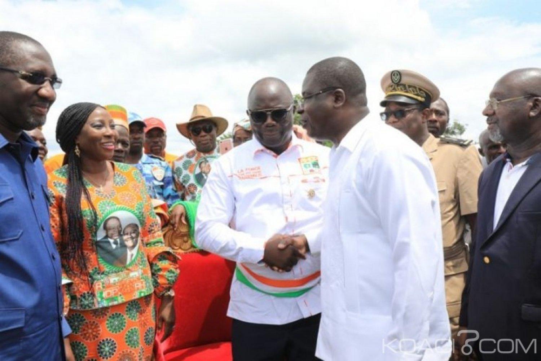 Côte d'Ivoire : Kandia Camara depuis Zikisso, « Avec Ouattara et le Rhdp, nous ne faisons pas de la politique politicienne »