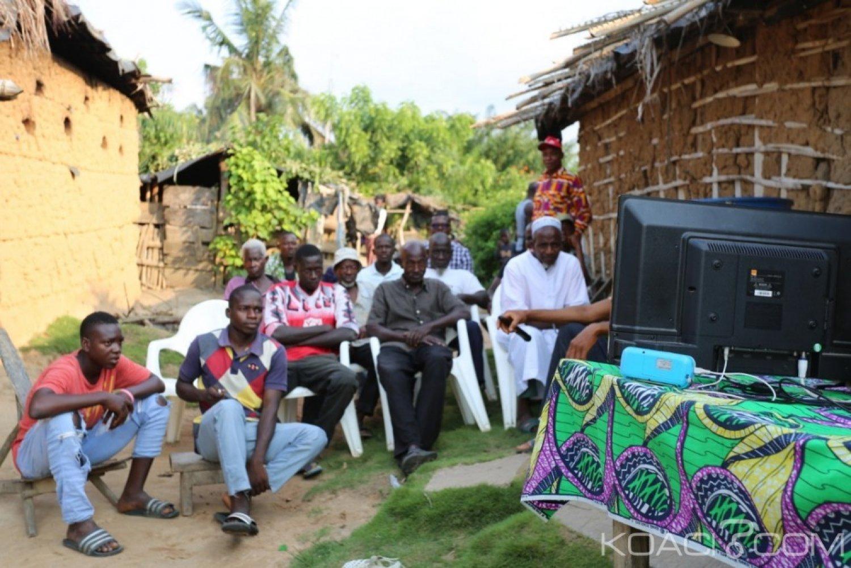 Côte d'Ivoire : Dans un village reculé de Divo, la CAN suivie par les populations en temps réel