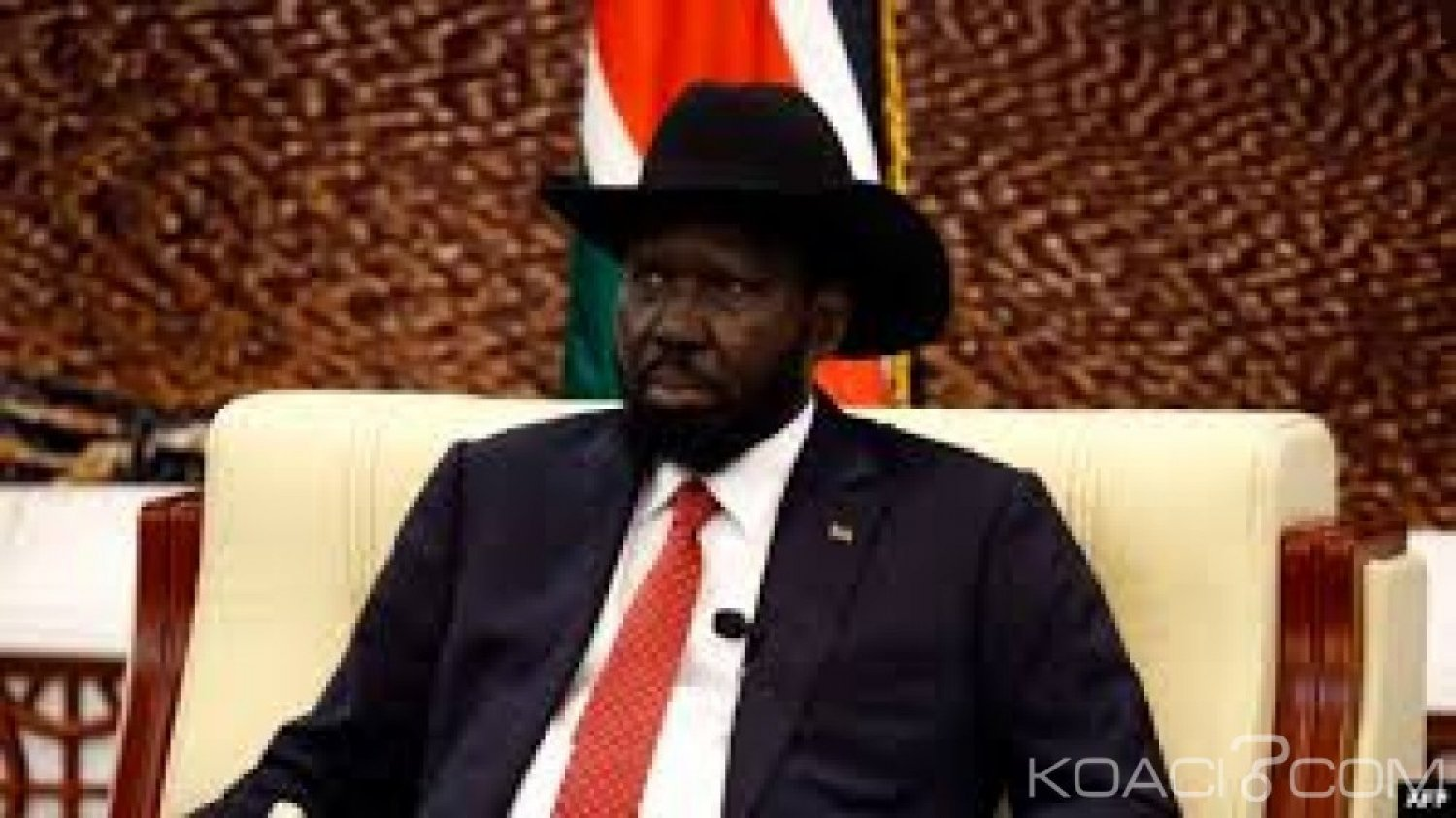 Soudan du Sud:  Interdiction de jouer l'hymne national en l'absence du Président Kiir