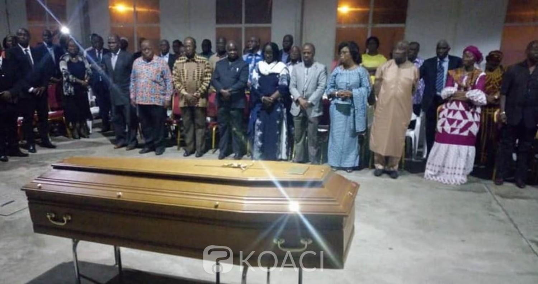 Côte d'Ivoire : Décédé en exil à Paris, le corps de l'ancien ministre Philippe Attey est arrivé à Abidjan