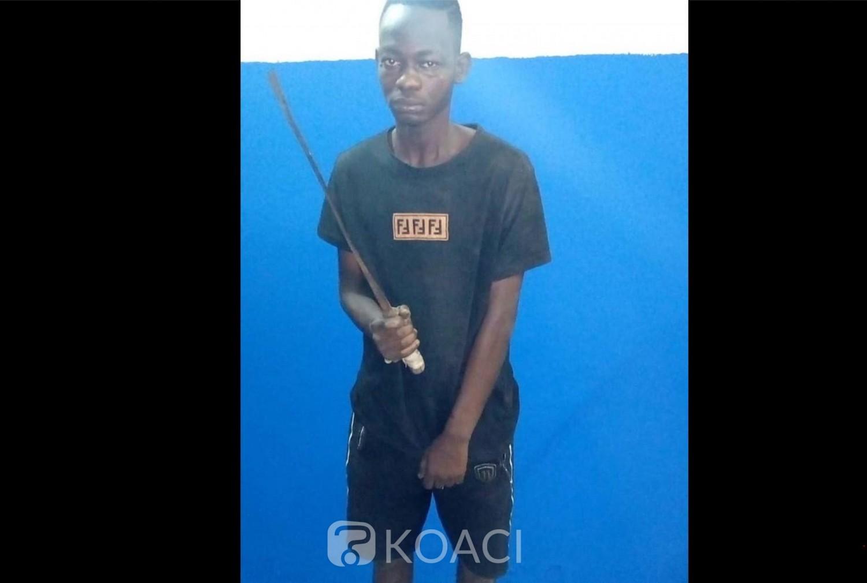 Côte d'Ivoire: Pris en flagrant délit d'agression, ses acolytes en fuite