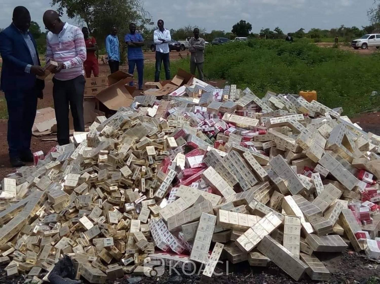 Burkina Faso: Des cigarettes d'une valeur de plus de 28 millions incinérées