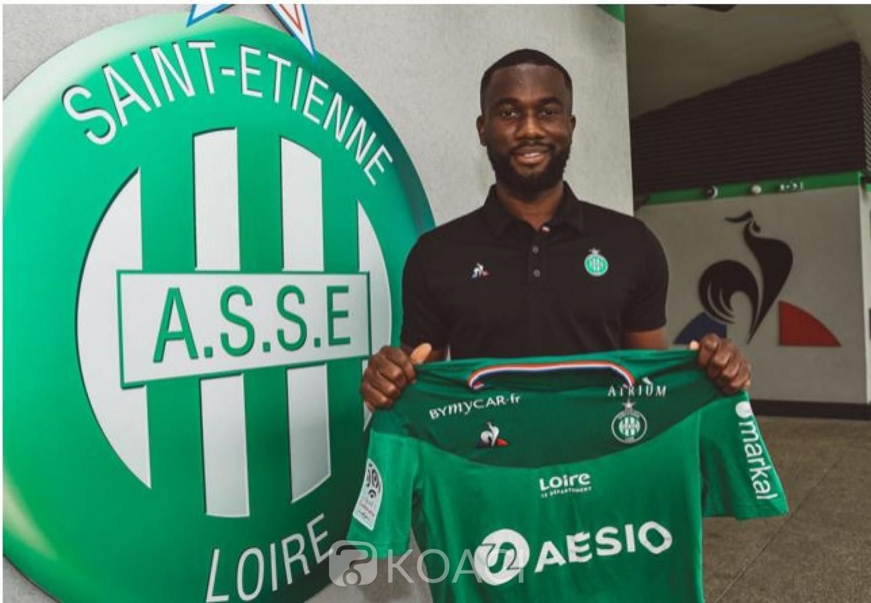 Côte d'Ivoire: L'international ivoirien Jean-Eudes Aholou prêté par Monaco à Saint Etienne pour une saison espère retrouver du temps de jeu