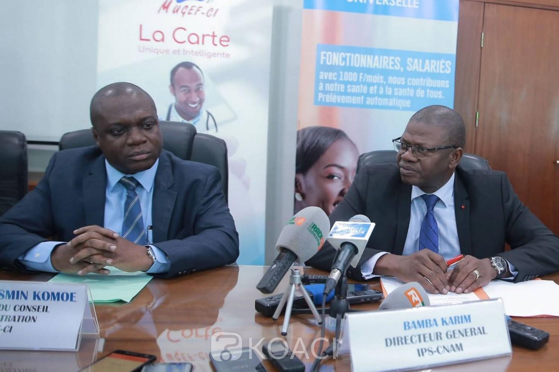 Côte d'Ivoire :   CMU, Fonctionnaires et agents de l'Etat bénéficient de prestations supplémentaires, Komoé invite les retardataires à se faire enrôler