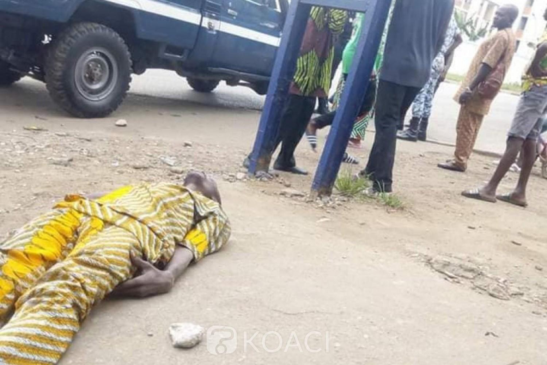 Côte d'Ivoire: A Williamsville, un cargo de police percute  trois piétons, dans un état critique