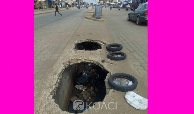 Togo: Un danger guette les passants sur la voie pavée à Bè-Kpota