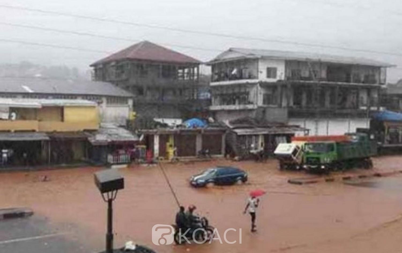Sierra Leone: Pluies torrentielles et inquiétudes à Freetown