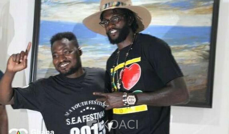 Ghana-Togo: Funny Face dément les rumeurs de sa relation homosexuelle avec Adebayor et le blanchit
