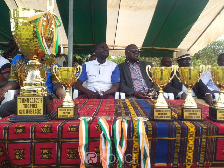 Côte d'Ivoire:  Eléphant du Kandessi  remporte le trophée du tournoi du Cap Développement Bafing doté du trophée Guillaume Soro