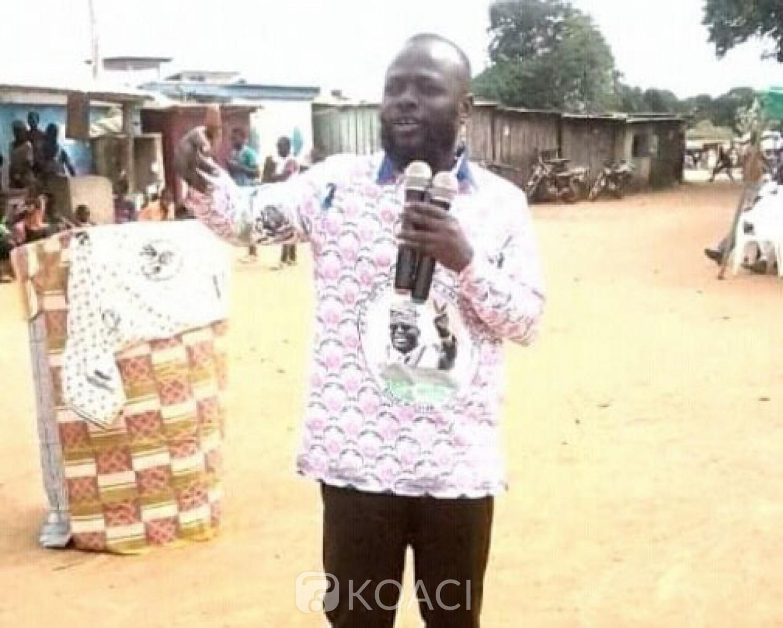 Côte d'Ivoire : À l'investiture du bureau fédéral de Brobo, Koua Justin martèle: