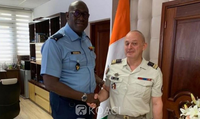 Côte d'Ivoire-France: Le nouveau Commandant des Forces françaises au contact des autorités sécuritaires