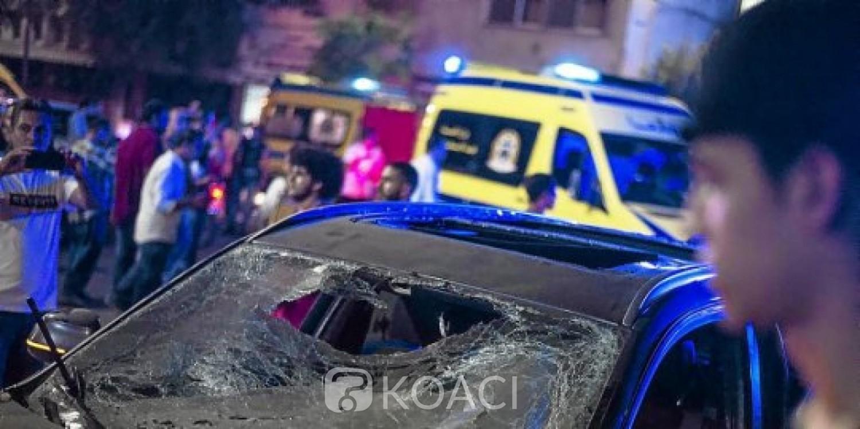 Egypte: 20 morts et 47 blessés dans l'explosion d'une voiture bourrée d'explosifs, Al Sissi dénonce un «acte terroriste»