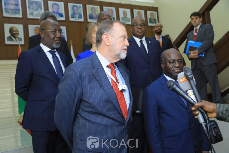 Côte d'Ivoire: 2020, Amon Tanoh aux USA: «Nous sommes ouverts et transparents à évoquer toutes ces questions au moment le plus important»