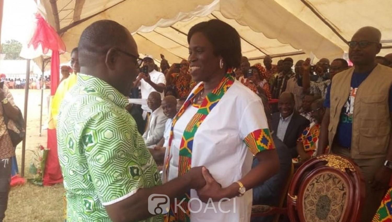 Côte d'Ivoire: A Dabou, soutenue par le PDCI, Simone solidaire aux planteurs d'hévéa, sans réconciliation il serait illusoire de parler d'élections en 2020 selon elle