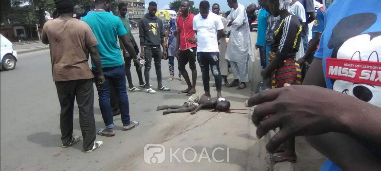 Côte d'Ivoire : Un enfant tué par un gbaka à Abobo