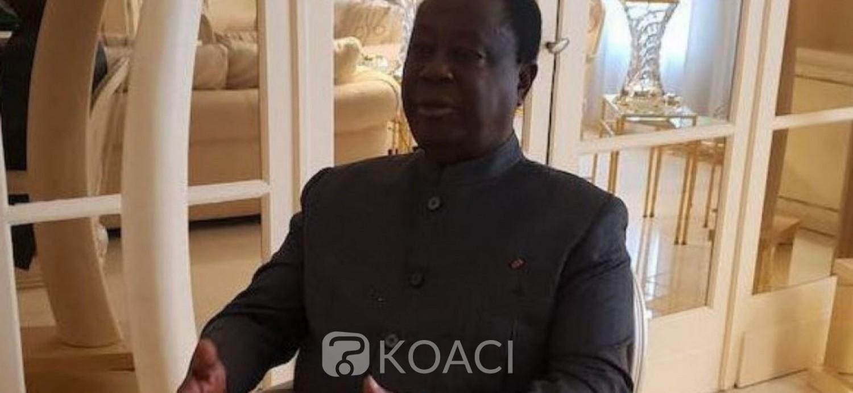 Côte d'Ivoire: Bédié à propos du bilan de Ouattara: «mon jugement est moins euphorique et triomphaliste»