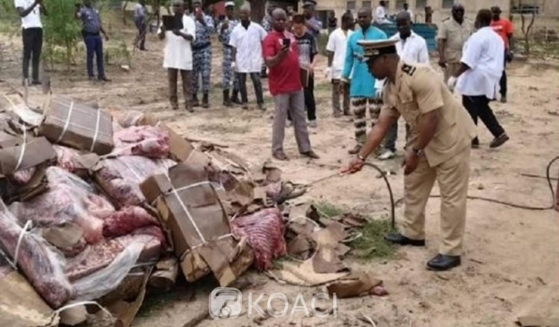Côte d'Ivoire: Affaire trafic illicite de viande d'âne à Ouagolodoudou par les asiatiques, les cartons incinérés ce jeudi