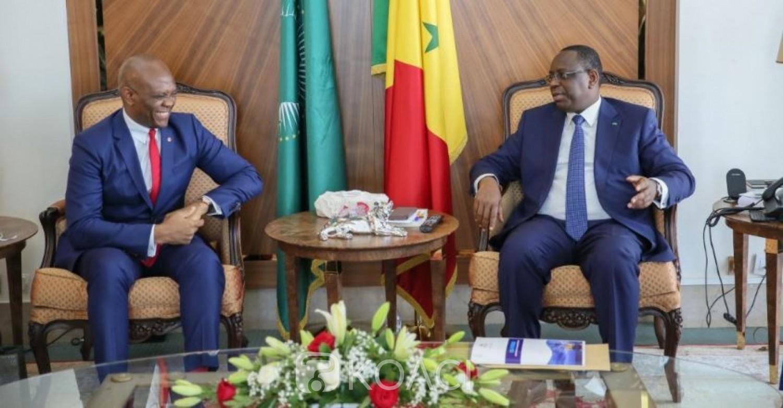 Nigéria:  Macky Sall échange avec Tony Elumelu  sur l'entrepreneuriat des jeunes au Sénégal
