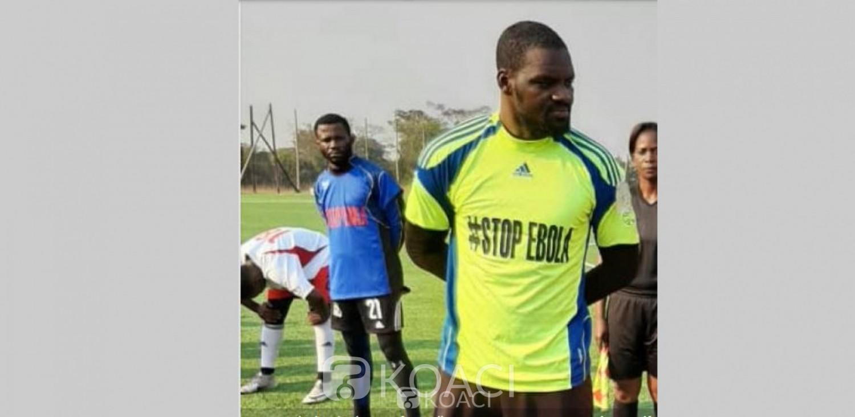 Côte d'Ivoire-RDC: Silvain Gbohouo et son club du TP Mazembe s'engagent  dans la lutte contre Ebola, voici ses conseils