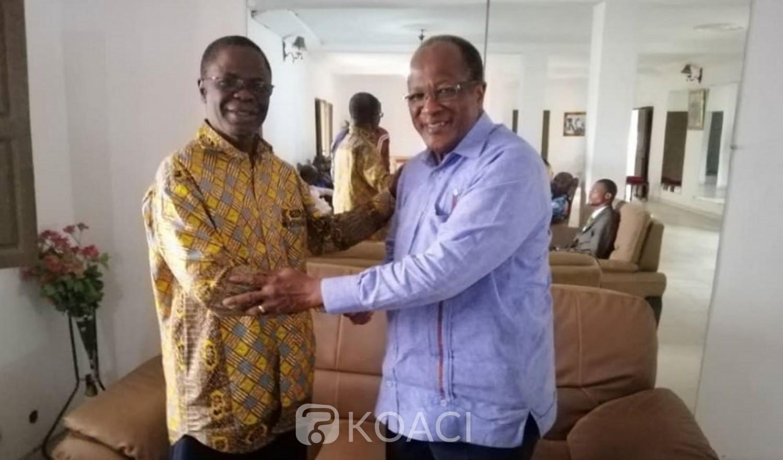 Côte d'Ivoire: L'ancien ministre Richard Secré chez Ouégnin pour l'inviter à une visite dans le Gontougo