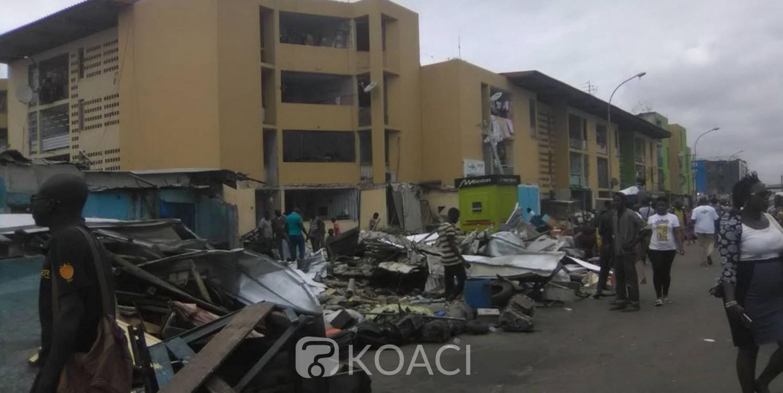 Côte d'Ivoire: Treichville, des magasins construits sur le domaine public détruits à la gare de Grand-Bassam