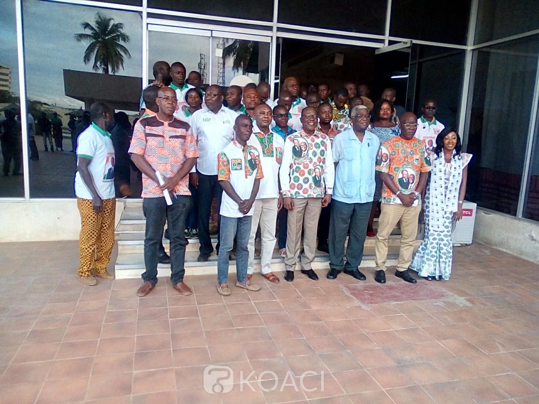 Côte d'Ivoire : Adhésion de 87