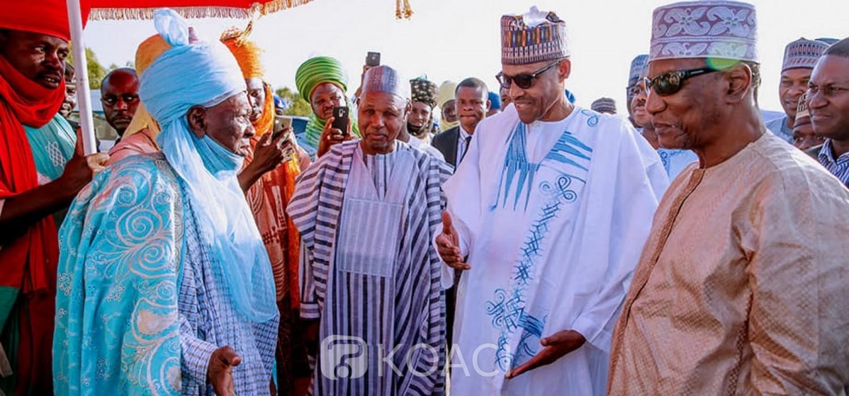 Nigeria-Guinée: Condé chez Buhari à Daura pour la Tabaski et des sujets bilatéraux
