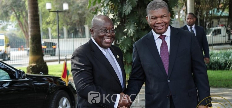 Ghana-Angola : Renforcement des relations bilatérales avec l'idée d'entraide sur le continent