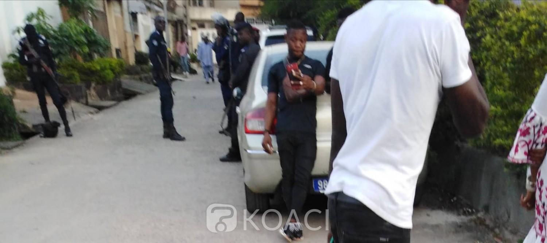 Côte d'Ivoire: Après l'annonce de sa mort, le domicile de DJ Arafat envahi par ses fans à Cocody, les forces de l'ordre sur place