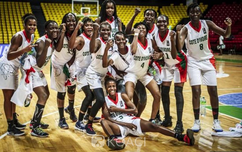 Côte d'Ivoire : Afrobasket 2019, les éléphantes dominent les tunisiennes et se hissent en quarts de finale