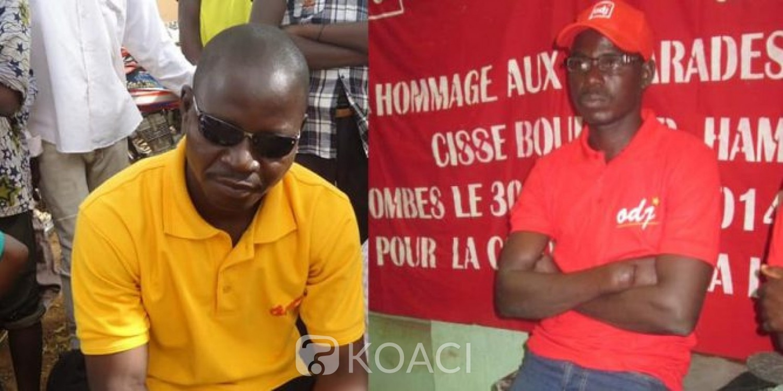 Burkina Faso : Une OSC réclame vérité et justice après la mort de deux de ses militants