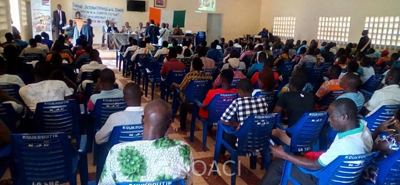 Côte d'Ivoire : À Botro pendant la JIJ 2019,  le conférencier révèle « c'est notre mentalité de sorcier qui crée des problèmes de cohésion sociale »