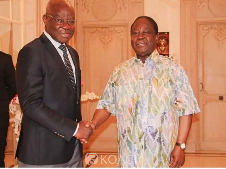 Côte d'Ivoire : L'ancien ministre Eric Kahé après une rencontre avec Bédié, « Les actions de grandes noblesses ont horreur du m'as-tu-vu »