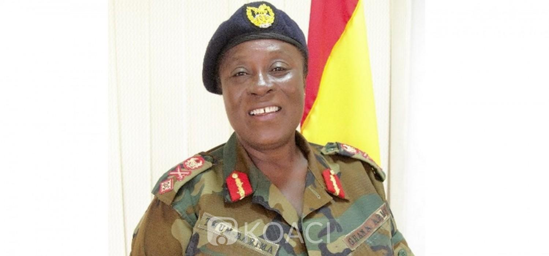 Ghana-Côte d'Ivoire: La 2e femme promue Brigadière-Générale va servir à Abidjan