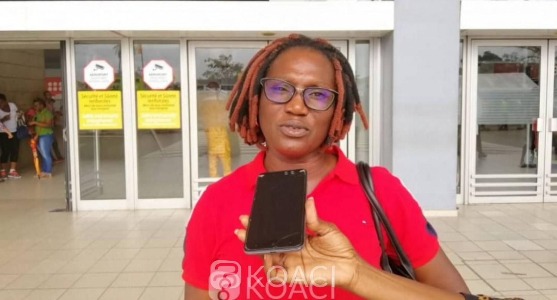 Côte d'Ivoire: CEI, Pulchérie Gbalet depuis l'aéroport appelle le peuple à se mobiliser pour faire appliquer l'arrêt de la CADHP
