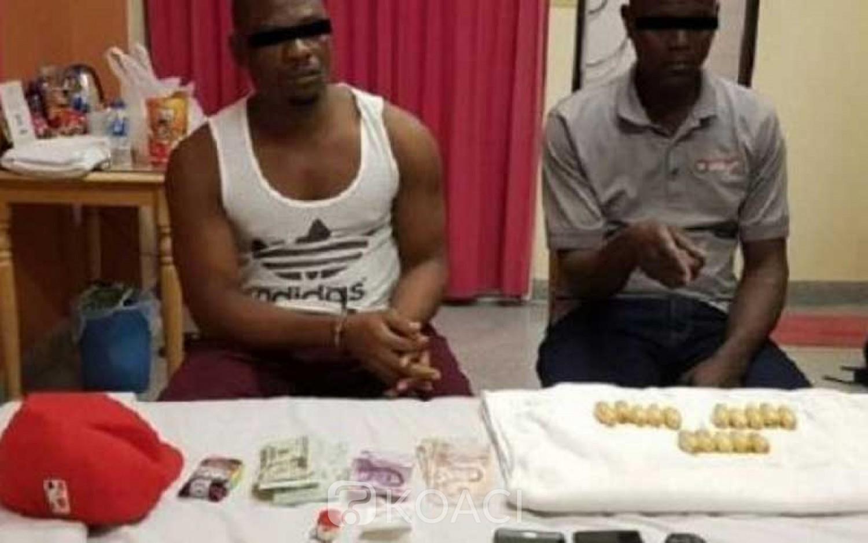 Kenya-Thailande:  Un kenyan arrêté à l' aéroport de Bangkok avec 1,2 kg de cocaïne dans son estomac
