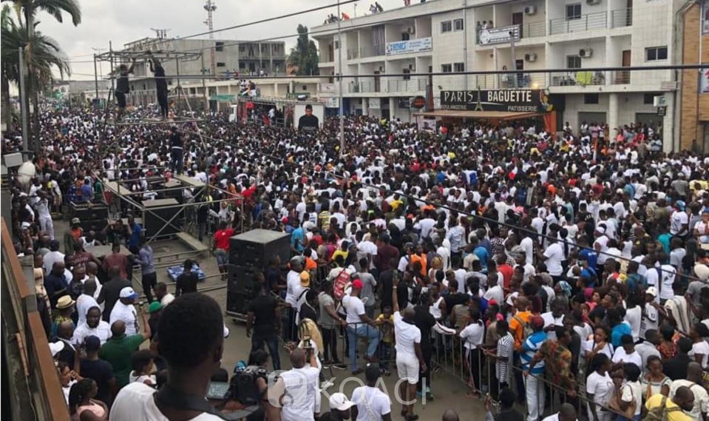 Côte d'Ivoire: Hommage à Arafat, impressionnante marche de plusieurs milliers de ses fans à Cocody
