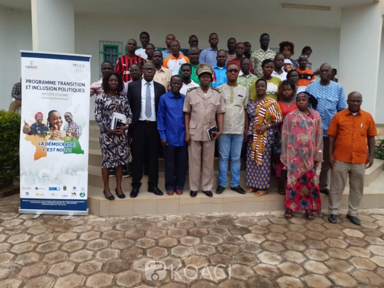 Côte d'Ivoire : Pour un climat apaisé avant, pendant et après les élections à venir, Sakassou bénéficie de la CIED