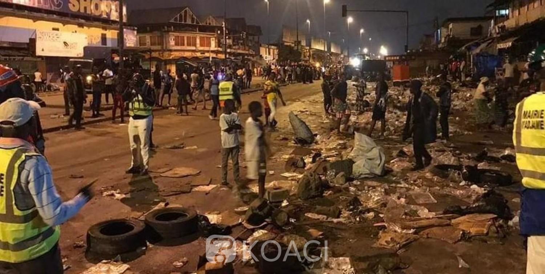 Côte d'Ivoire: Adjamé, la mairie déguerpit nuitamment le Boulevard Nagui Abrogua