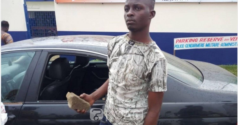 Côte d'Ivoire: Surpris en train de cambrioler un véhicule