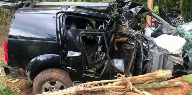 Côte d'Ivoire: Sortie de route meurtrière d'un véhicule sur l'autoroute du nord