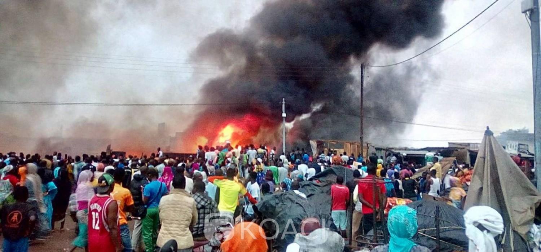 Côte d'Ivoire: Bouaké, le marché d'oignons en flamme, les pompiers impuissants en raison des bouches d'incendie bloquées